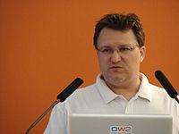 2011 Salon Linux Ludovic Dubost Xwiki.jpg