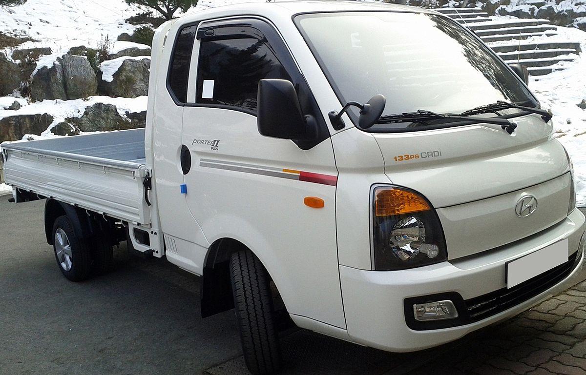 Hyundai Porter — Wikipédia