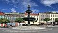 2012 Karwina, Frysztat, Żeliwna fontanna na rynku 05.jpg
