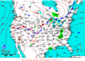 2013-07-07 Surface Weather Map NOAA.png