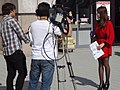 2013 Taipei IT Month FTV News reporters 20131130.jpg