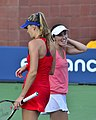 2013 US Open (Tennis) - Daniela Hantuchova and Martina Hingis (9649617037).jpg