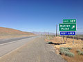 2014-06-12 09 35 08 Sign for Exit 187 along westbound Interstate 80 near Button Point, Nevada.JPG