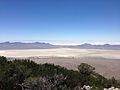 2014-06-29 12 16 47 View south-southeast from about 9250 feet on the main ridgeline of Pilot Peak, Nevada north of Miner's Canyon.JPG