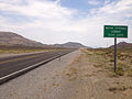 2014-07-17 13 48 14 View east along U.S. Route 6 about 46.1 miles east of the Esmeralda County Line at Warm Springs Summit, Nevada.JPG