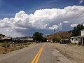 2014-07-30 13 33 42 View west along Main Street in Manhattan, Nevada.JPG