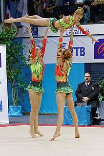 2014 Acrobatic Gymnastics World Championships – Womens group qualification