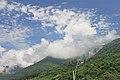 2014 Gagra, Chmury nad wzgórzami.jpg