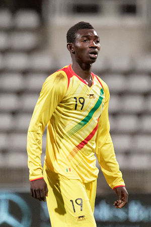 Adama Traoré (footballer, born 1995) - Traoré with Mali U20s in March 2015