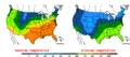 2016-04-27 Color Max-min Temperature Map NOAA.png