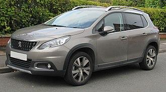 Peugeot 2008 - 2017 Peugeot 2008 facelift
