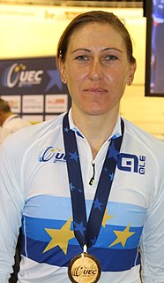 Silvia Valsecchi cyclist