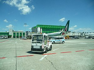 Linate Airport - Image: 2017 at Milan Linate Airport 02