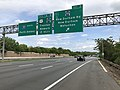 2018-05-20 15 20 25 View south along Interstate 287 (Middlesex Freeway) at Exit 3 (Middlesex County Route 501, New Durham Road, New Durham, Metuchen) in Edison Township, Middlesex County, New Jersey.jpg