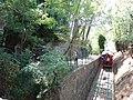 2018-09-14 Funicolare di Montecatini vista dal ponticello a metà percorso 26.jpg