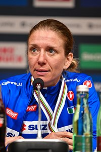 20180929 UCI Road World Championships Innsbruck Women Elite Road Race Tatiana Guderzo 850 8235.jpg