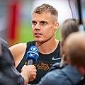 2018 DM Leichtathletik - 100 Meter Lauf Maenner - Julian Reus - by 2eight - DSC7977.jpg