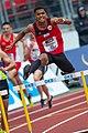 2018 DM Leichtathletik - 400-Meter-Huerden Maenner - Joshua Abuaku - by 2eight - DSC7174.jpg