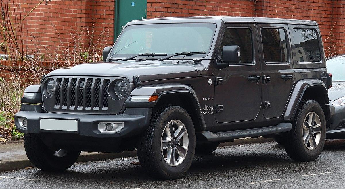 Jeep Wrangler Engine >> Jeep Wrangler - Wikipedia