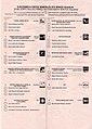 2019 Spanish general election Ballot - Gipuzkoa - Senado.jpg