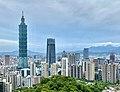 20200809 Taipei, Taiwan Skyline.jpg