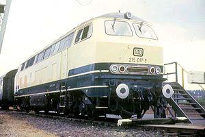 DB Class 215 - DB Class 215 017