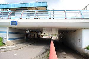 De Vink railway station - Image: 224 Voetgangerstunnel de Vink
