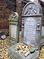 251012 Detail of tombstones at Jewish Cemetery in Warsaw - 55.jpg