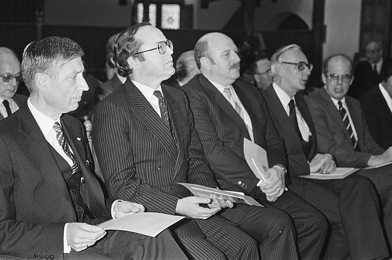File:25 jarig bestaan Interparlementaire Beneluxraad in Ridderzaal in Den Haag, Bestanddeelnr 932-1458.jpg