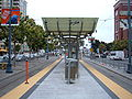 2nd & King Muni Metro stop looking north.JPG