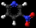 3-Nitropyridine molecule ball.png