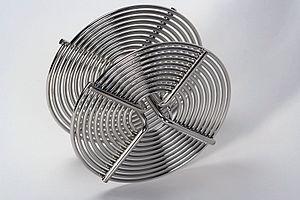Stainless steel film reel for 35mm film