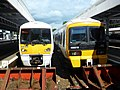 376020 and 466019 at Orpington (20157105856).jpg
