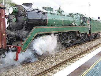 Clyde Engineering - 3830 at the Hunter Valley Steamfest in April 2008