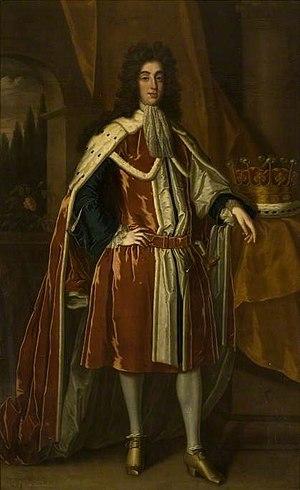 Edward Montagu, 3rd Earl of Sandwich - The 3rd Earl of Sandwich.