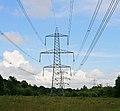 400 KV supergrid pylons in Botley Wood - geograph.org.uk - 452234.jpg