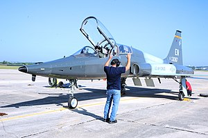415th Flight Test Flight - Image: 415th Flight Test Flight Northrop T 38 65 NO Talon 66 8367