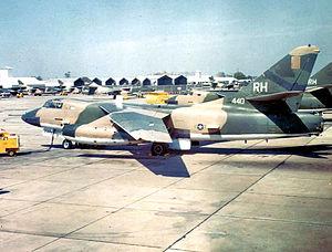 42d Electronic Combat Squadron - Image: 42d Tactical Electronic Warfare Squadron Douglas EB 66E Destroyer