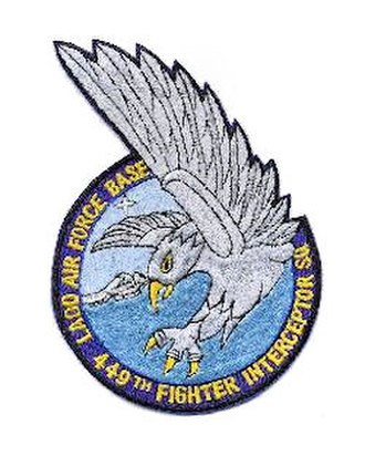 449th Fighter-Interceptor Squadron - Image: 449th Fighter Interceptor Squadron Emblem