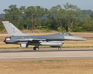 457th Fighter Squadron - 457th FS F-16C Block 30A, AF Serial No. 85-1412, at NAS Fort Worth JRB