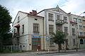 70 Jagiellońska Street in Sanok front left pharmacy.jpg