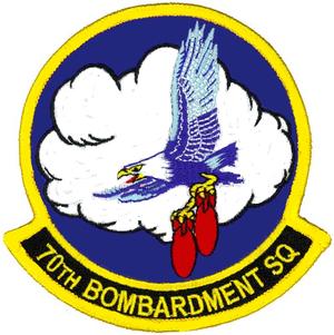 70th Flying Training Squadron - Image: 70th Bombardment Sq emblem