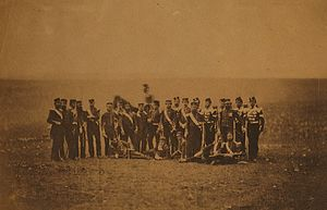 88th Regiment of Foot (Connaught Rangers) - Officers of the 88th in the Crimean War.