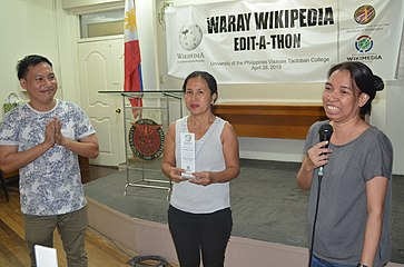 9th Waray Wikipedia Edit-a-thon 41.JPG