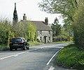 A360 passing a cottage near Black Dog Farm - geograph.org.uk - 1278561.jpg