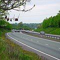 A5, Shrewsbury Bypass at Woodcote - geograph.org.uk - 410043.jpg