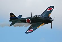 Mitsubishi A6M3 Zero de la Commemorative Air Force