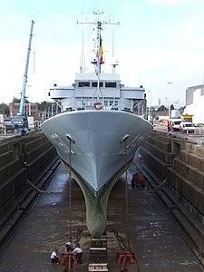 A960 in Drydock p2, Antwerp, Belgium.JPG