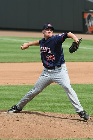 Philip Humber - Humber during his tenure with the Minnesota Twins in 2008.