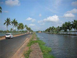State Highway 11 (Kerala) road in Kerala, India